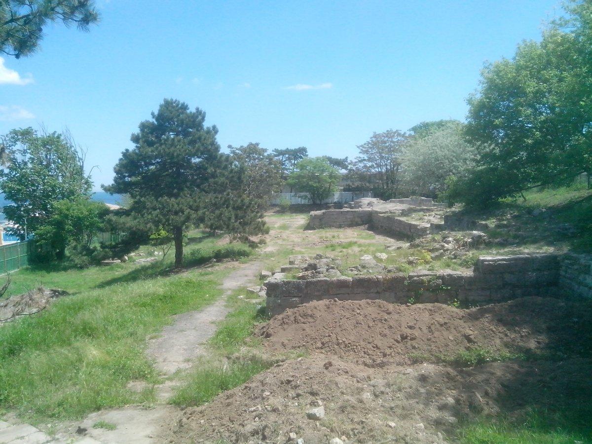 Callatis - Mangalia ancient ruins, Constanta county