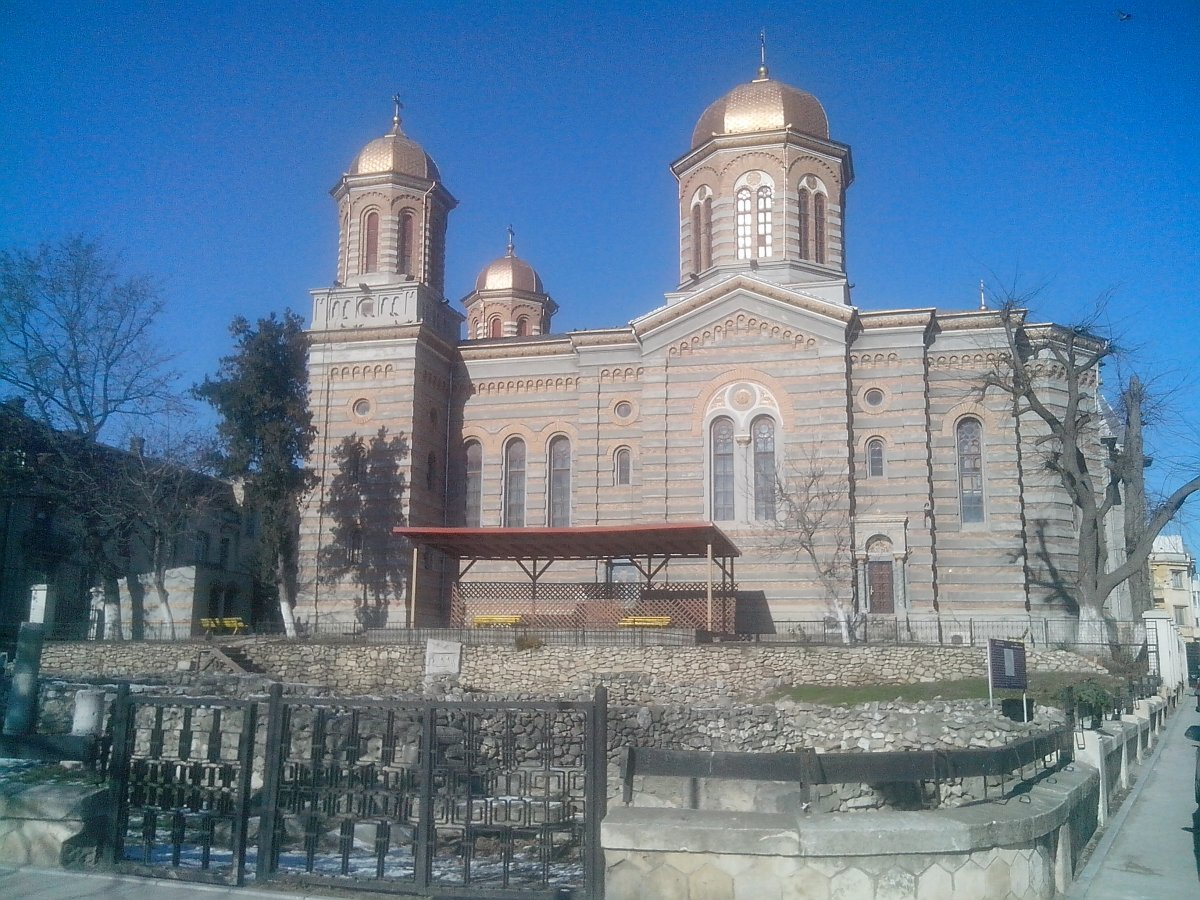 Old town - Tomis , Christian church