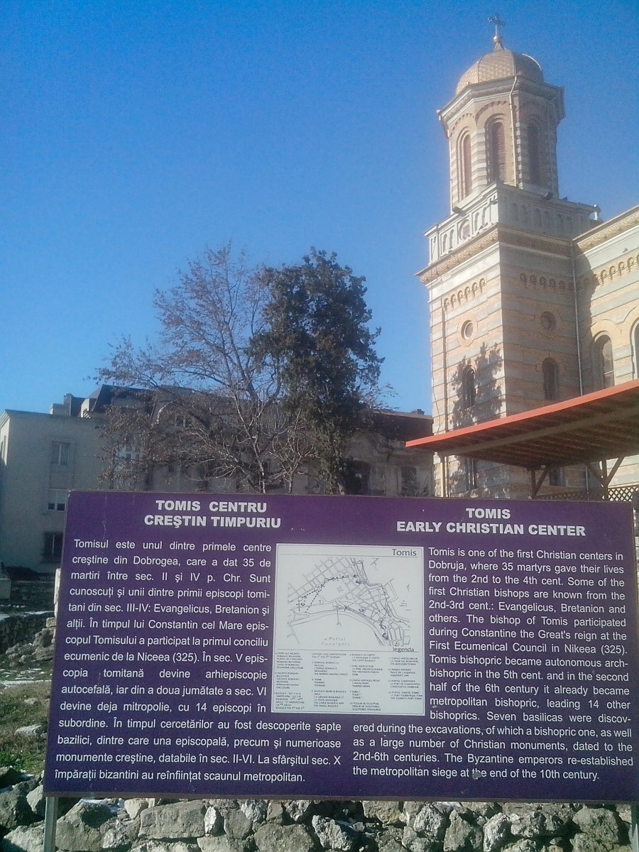 Old town - Tomis , Christian church, Constanta county