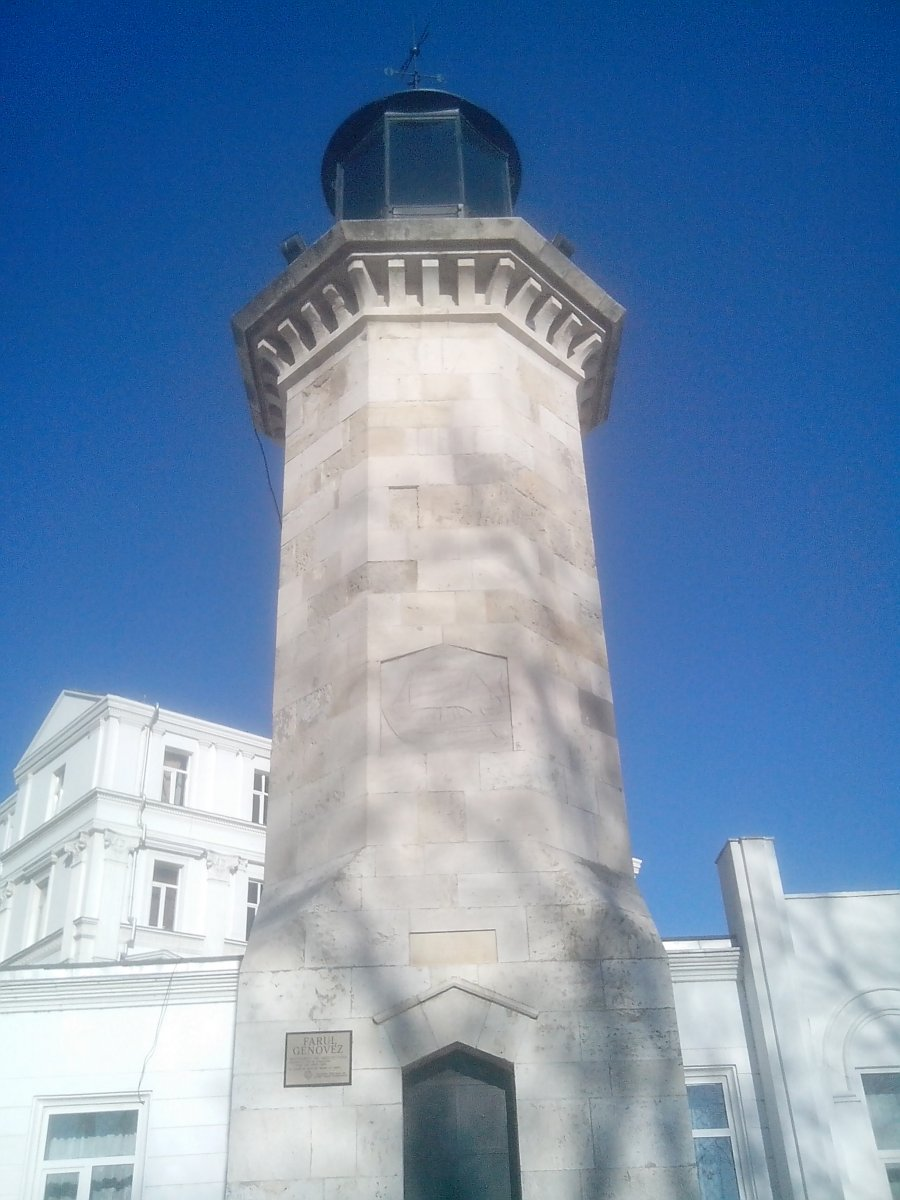 Genovesse Light tower - Tomis, Constanta county