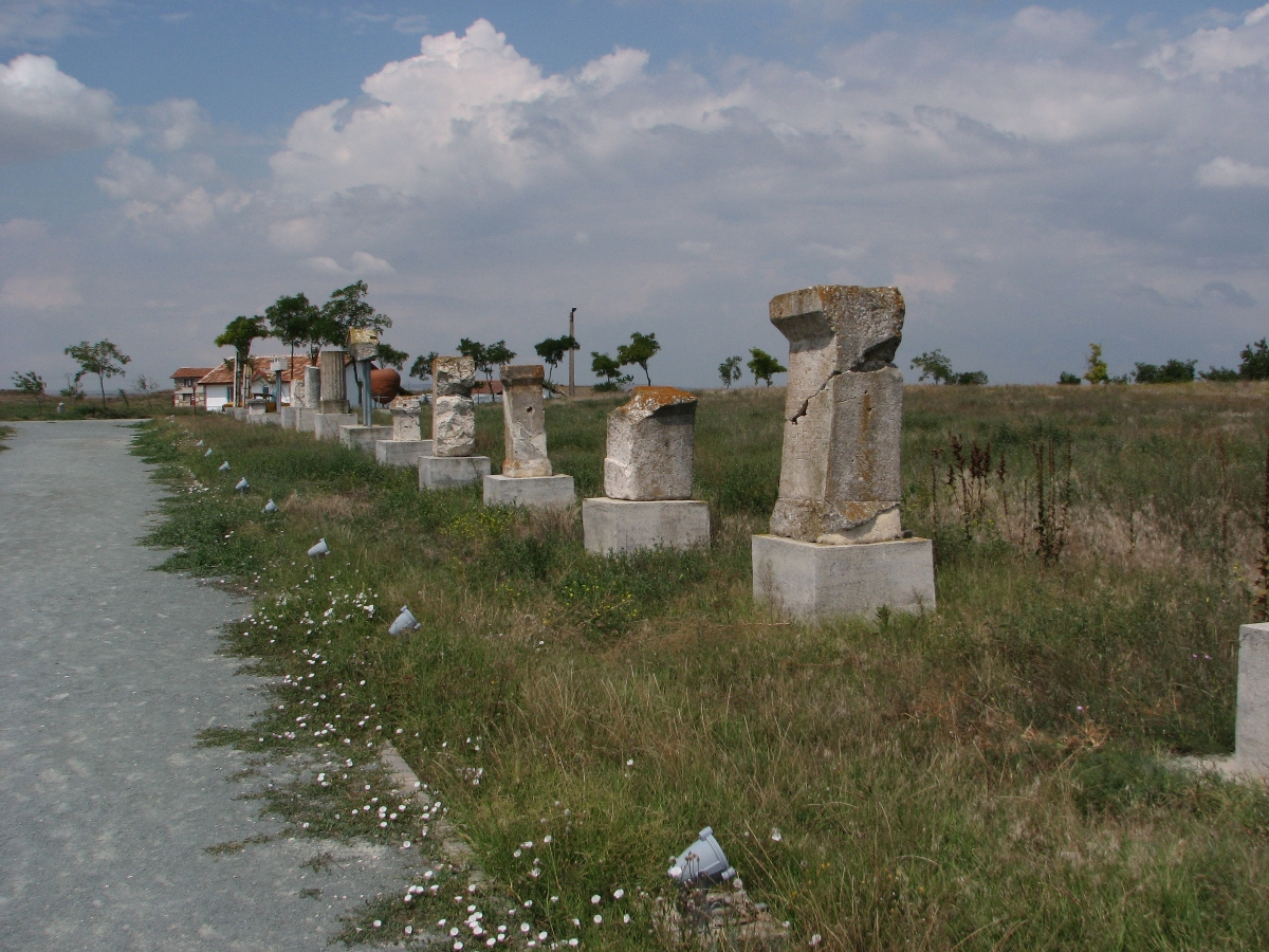 ancient ruins Histria - Constanta county