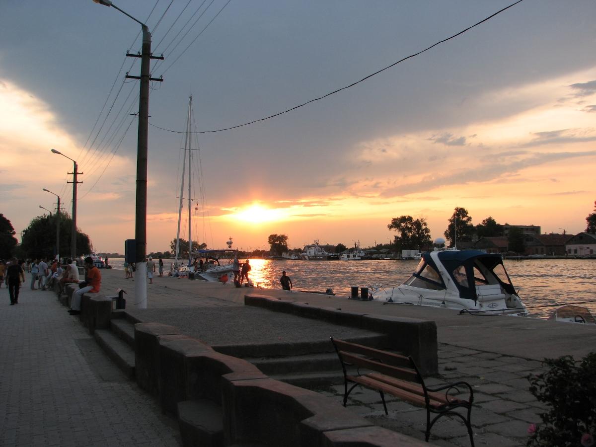Sulina harbour, Tulcea county