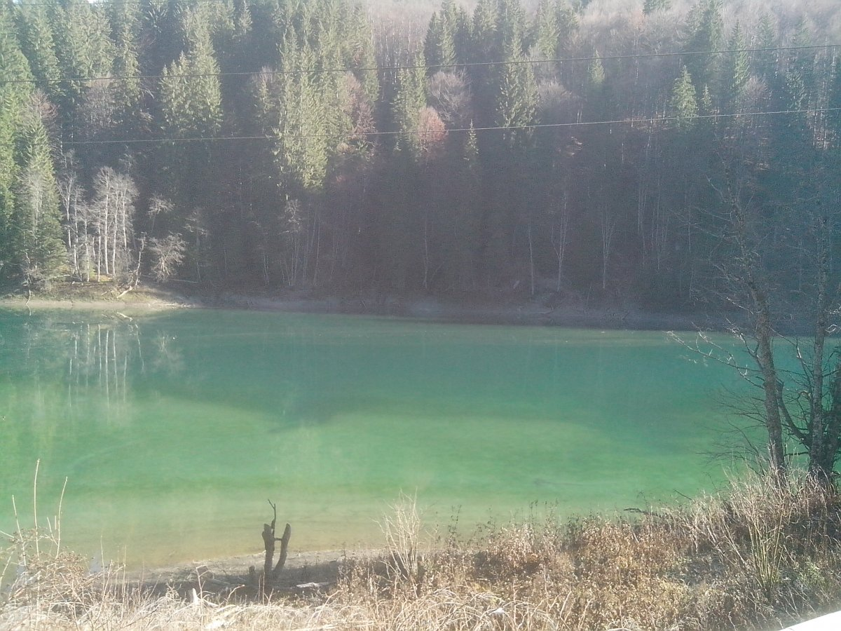 Scropoasa lake - Bucegi natural park