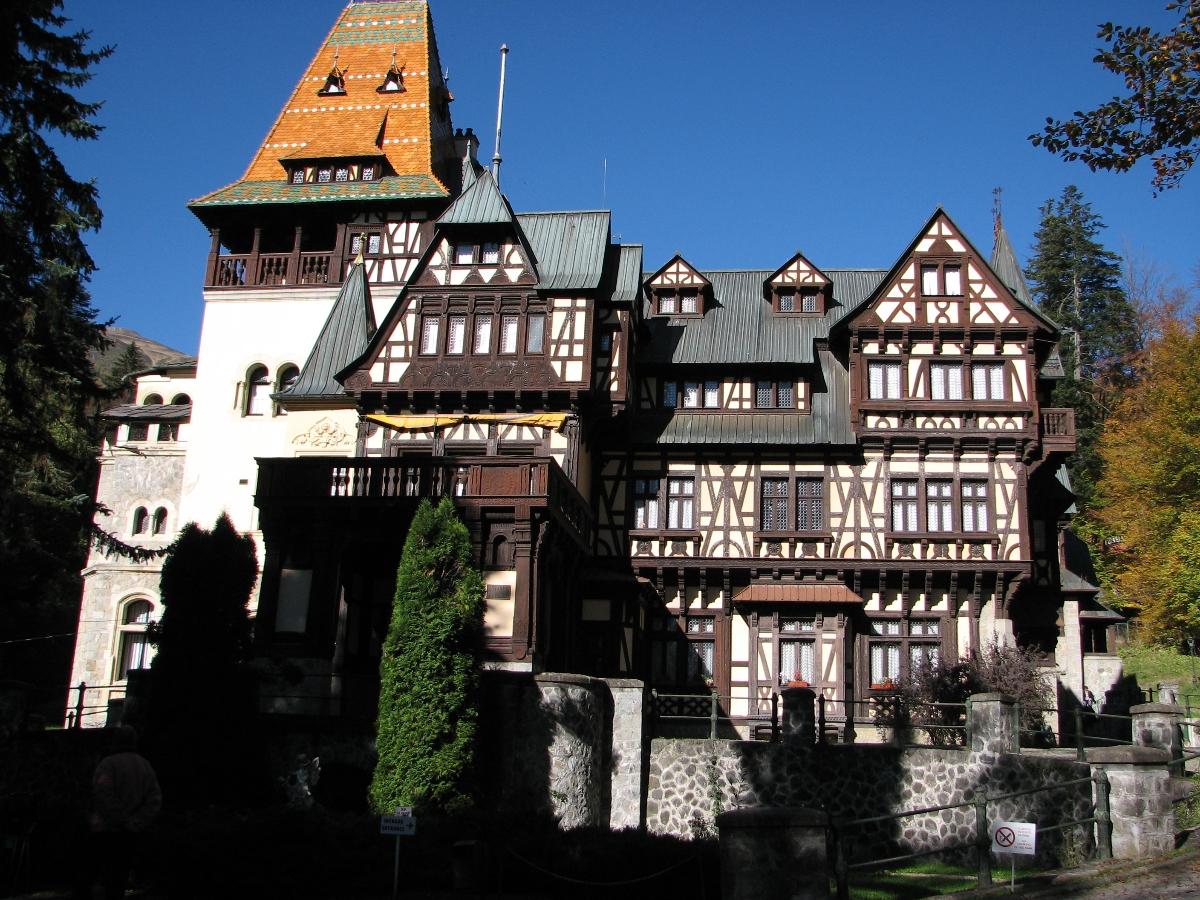 Pelisor Castle - Sinaia, Prahova valley