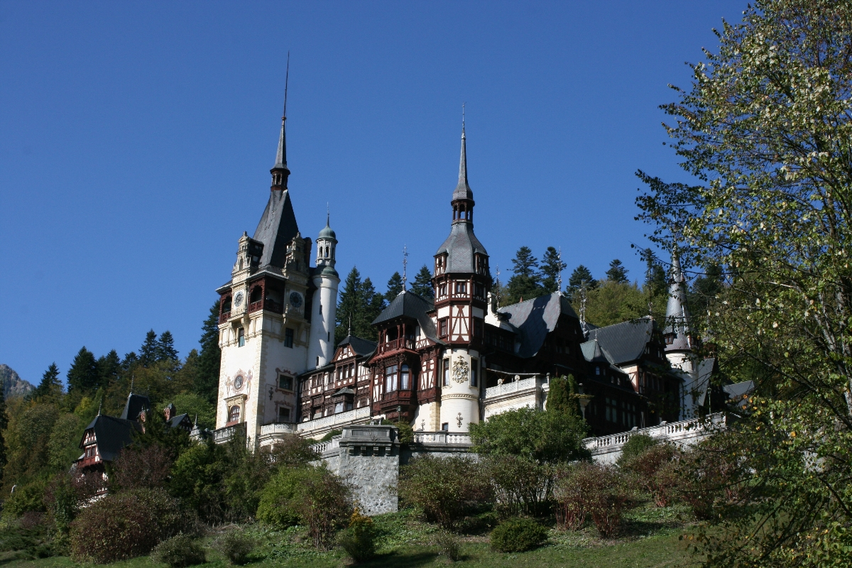 Peles Castle - Sinaia, Prahova valley