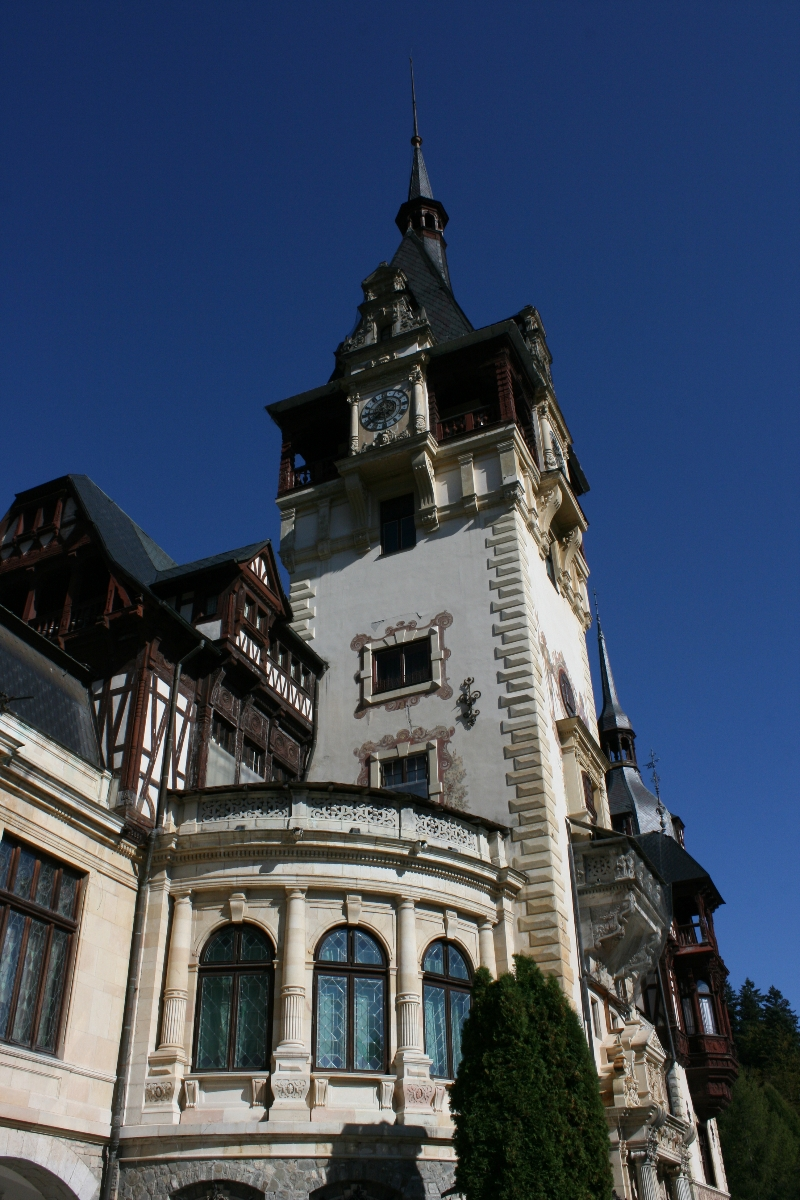 Peles Castle - Sinaia , Prahova valley