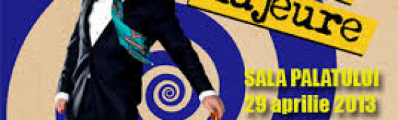 Eddie Izzard's in Bucharest April 29, part of his Force Majeure World Tour 2013