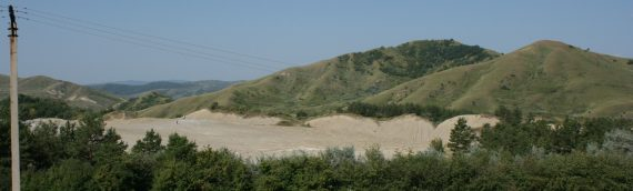 Muddy Volcanoes and highlights of Buzau county