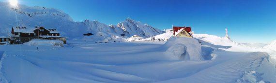 Hotel of Ice – Balea Lake on January