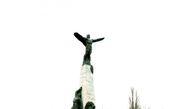 the Air Pilot Monument- Bucharest