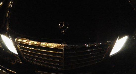 Mercedes E class front
