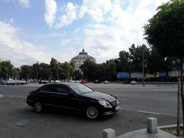 Mercedes E-class ,VLT- personal driver Bucharest