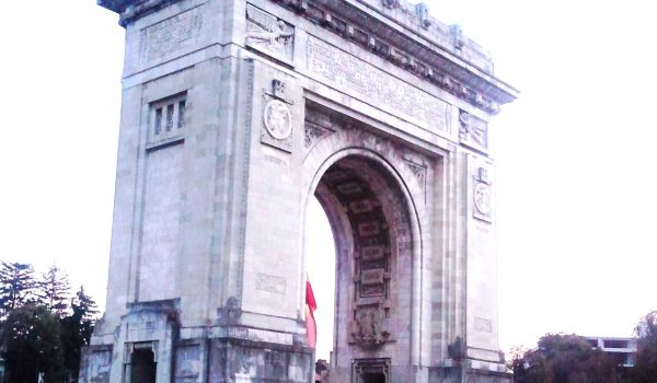 Arch of Triumph - Bucharest ,VLT Bucharest private driver